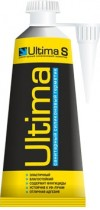 силикон ULTIMA 80 мл санитарный, цвет белый, прозрачный